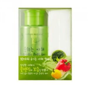 Мицеллярная вода для лица NATURE REPUBLIC Fresh Vegetable Wash-Free Cleansing Water 300ml
