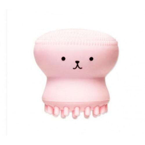 Силиконовая кисточка Etude House My Beauty tool keratin care jellyfish silico brush 1шт