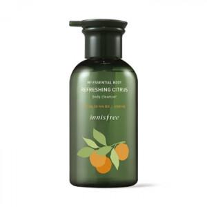 INNISFREE my essential body refreshing citrus body cleanser 330ml