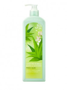 NATURE REPUBLIC Love Me Bubble Shower Gel Fresh Aloe 1L