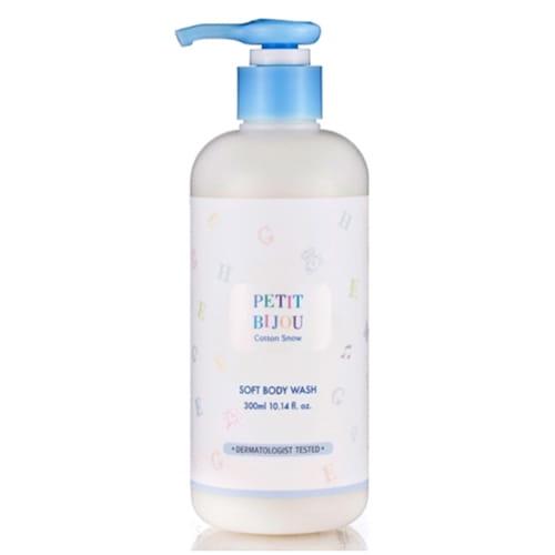 Гель для душа с молочными протеинами Etude House Petit bijou cotton snow soft body wash 300ml