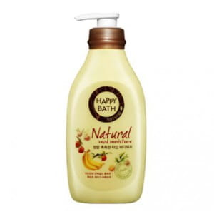 HAPPY BATH Natural Real Moisture Body Wash 500g