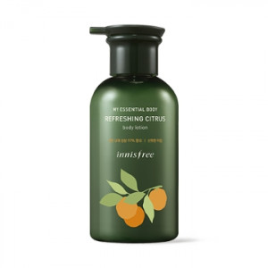 INNISFREE my essential body refreshing citrus body lotion 330ml