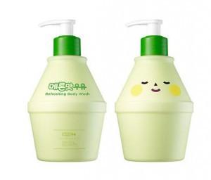 Гель для душа с экстрактом дыни Round Around melon refresh body wash 400ml