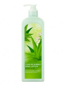 NATURE REPUBLIC Love Me Bubble Body Lotion Fresh Aloe 1L