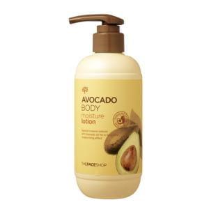 Увлажняющий лосьон для тела THE FACE SHOP Avocado Body Moisture Lotion 300ml