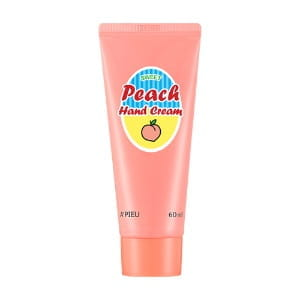 Крем для рук Apieu Peach hand cream 60ml