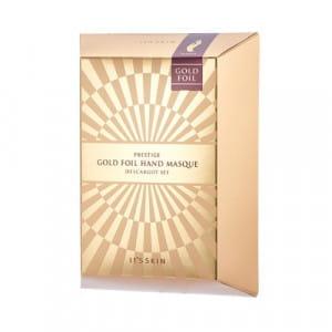 IT'S SKIN Prestige Gold Foil Hand Masque D'escargot (6ml*2)*5ea