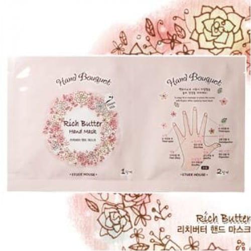 Маска для рук Etude House Hand Bouquet Rich Butter Hand mask