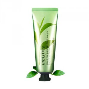 Крем-гель для рук с зеленым чаем Innisfree Green Tea Pure Gel Hand Cream 50ml