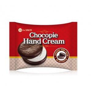 Питательный крем для рук THE SAEM Chocopie Hand Cream Cookies & Cream 35ml
