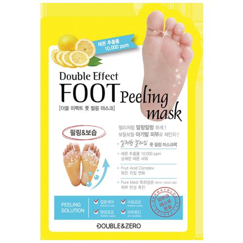 Маска-пилинг для стоп Double & Zero Double effect foot peeling mask 1шт