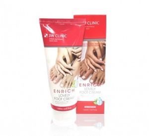 3W CLINIC Enrich Lovely Foot Cream 150ml