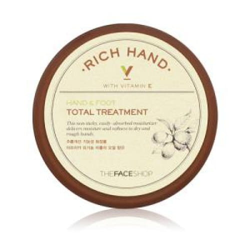Крем для рук и ног The Face Shop Rich Hand V Hand & Foot Treatments 110ml