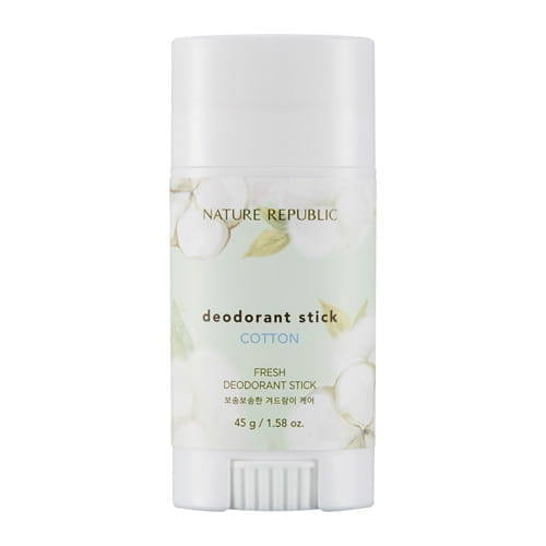 Дезодорант-стик с хлопком Nature Republic Fresh deodorant stick - cotton 45g