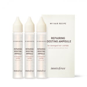 INNISFREE My Hair Recipe Repairing Boosting Ampoule 25ml*3ea (For Damaged Hair)