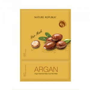 Укрепляющая маска для волос NATURE REPUBLIC Argan Essential Deep Care Hair Mask 15ml