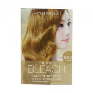Осветляющая краска для волос Nature Republic Hair & Nature Hair Color Cream #Bleach 10g+30g