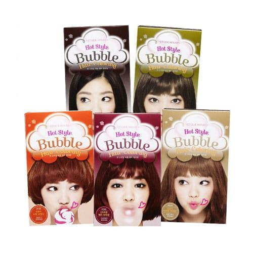 Краска для волос Etude House Hot Style Bubble Hair Coloring NEW