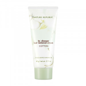 NATURE REPUBLIC Cotton In Shower Removal Cream 60g