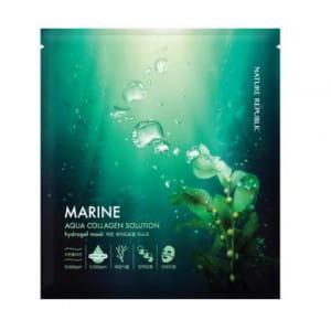 NATURE REPUBLIC Aqua Collagen solution Marine Hydrogel mask