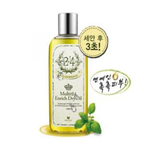 Питательное увлажняющее масло для тела Mizon Multi 24 Enrish Dry Oil