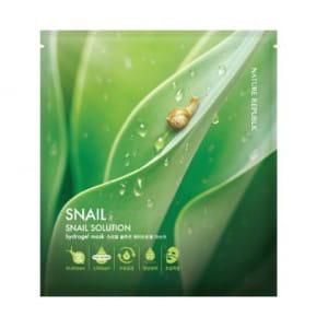NATURE REPUBLIC Snail Solution SNAIL Hydrogel mask