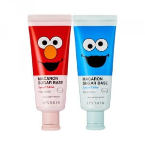База под макияж It's Skin Macaron sugar base special edition (sesame street) 35ml