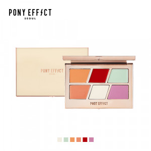 PONY EFFECT Color Correcting Master Palette 8g