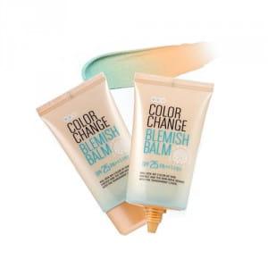 Увлажняющий ВВ крем Welcos Color change blemish balm 50ml