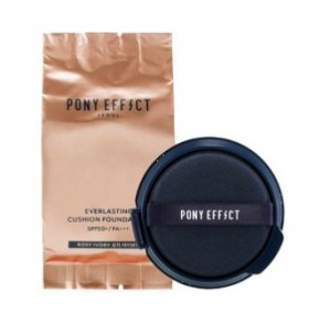 PONY EFFECT Coverstay Cushion Foundation SPF50+ PA+++ 15g (Refill)
