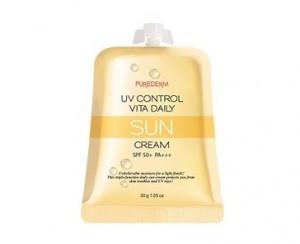 PUREDERM UV control vita Daily Sun cream SPF50+PA++ 30g