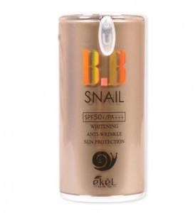 Улиточный ВВ крем с солнцезащитным эффектом Ekel Snail Bb spf50+/pa+++ 50g
