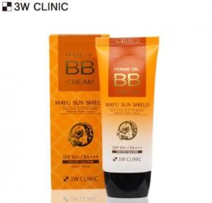 3W CLINIC Mayu Sun Shield BB Cream SPF 50+/Pa+++ 50ml