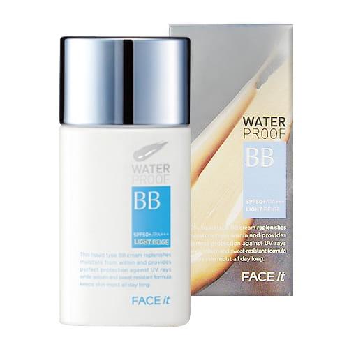 Водостойкий ВВ крем The Face Shop Face It Waterproof BB SPF50+ PA+++ 50ml