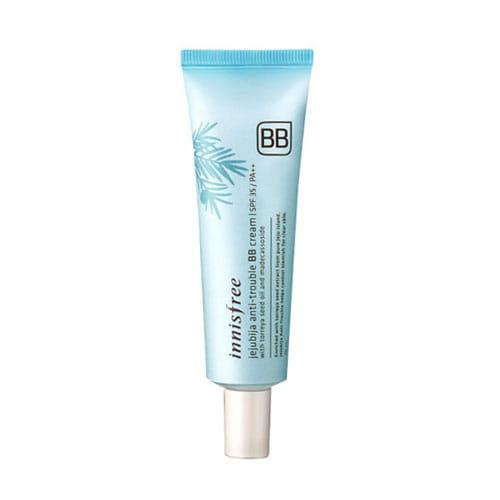 ВВ покрытие для проблемной кожи Innisfree Jejubija Anti-trouble BB Cream  30ml