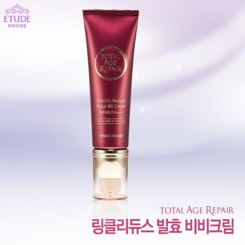 Антивозрастной ВВ-крем Etude House Total Age Repair BB Cream SPF45/PA+++