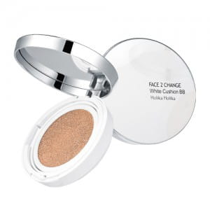 Осветляющее ВВ покрытие Holika Holika Face 2 Change White Cushion BB SPF50+/PA+++ 20g