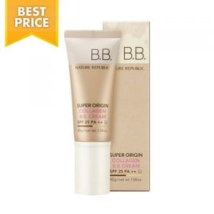 Органический ВВ крем Nature Republic Super Origin Collagen BB Cream SPF25PA++ 45g