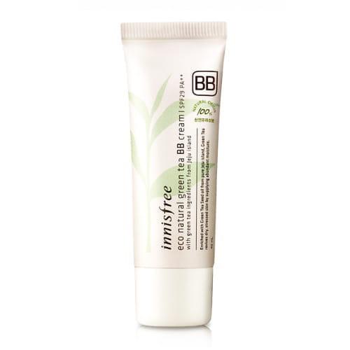 ВВ крем с зеленым чаем Innisfree Eco Natural Green Tea BB Cream SPF29 PA++ 40ml