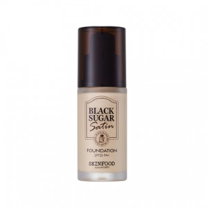 SKINFOOD Black Sugar Satin Makup Foundation SPF20 PA+ 30ml