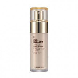 THE FACE SHOP Gold Collagen Ampoule Foundation SPF30 PA++ 40ml