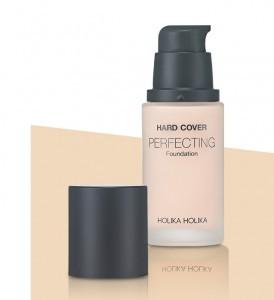 HOLIKAHOLIKA Hard Cover Perfecting Foundation SPF50+ PA++++ 30ml