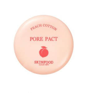 SKINFOOD Peach Cotton Pore Pact 9g