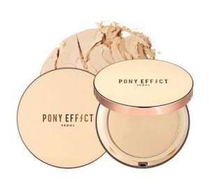 PONY EFFECT Skin Fit Powder Pact 8g [time sale event]