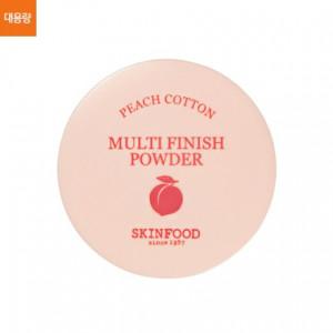 Финишная матирующая пудра Skinfood Peach cotton multi finish powder 15g