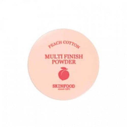 Рассыпчатая пудра Skinfood Peach cotton multi finish powder 5g