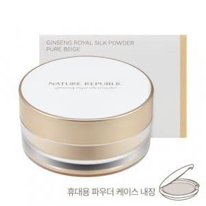 NATURE REPUBLIC Ginseng Royal Silk Powder 27g 01 Pure Beige SPF26 PA+