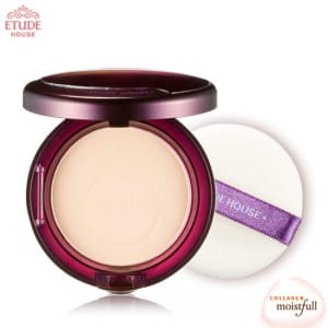 Увлажняющая эссенция Пудра ETUDE HOUSE Moistfull Collagen Essence in Pact SPF25/PA++12g