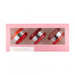 NATURE REPUBLIC Dual Lip & Cheek Macaroon Kit
